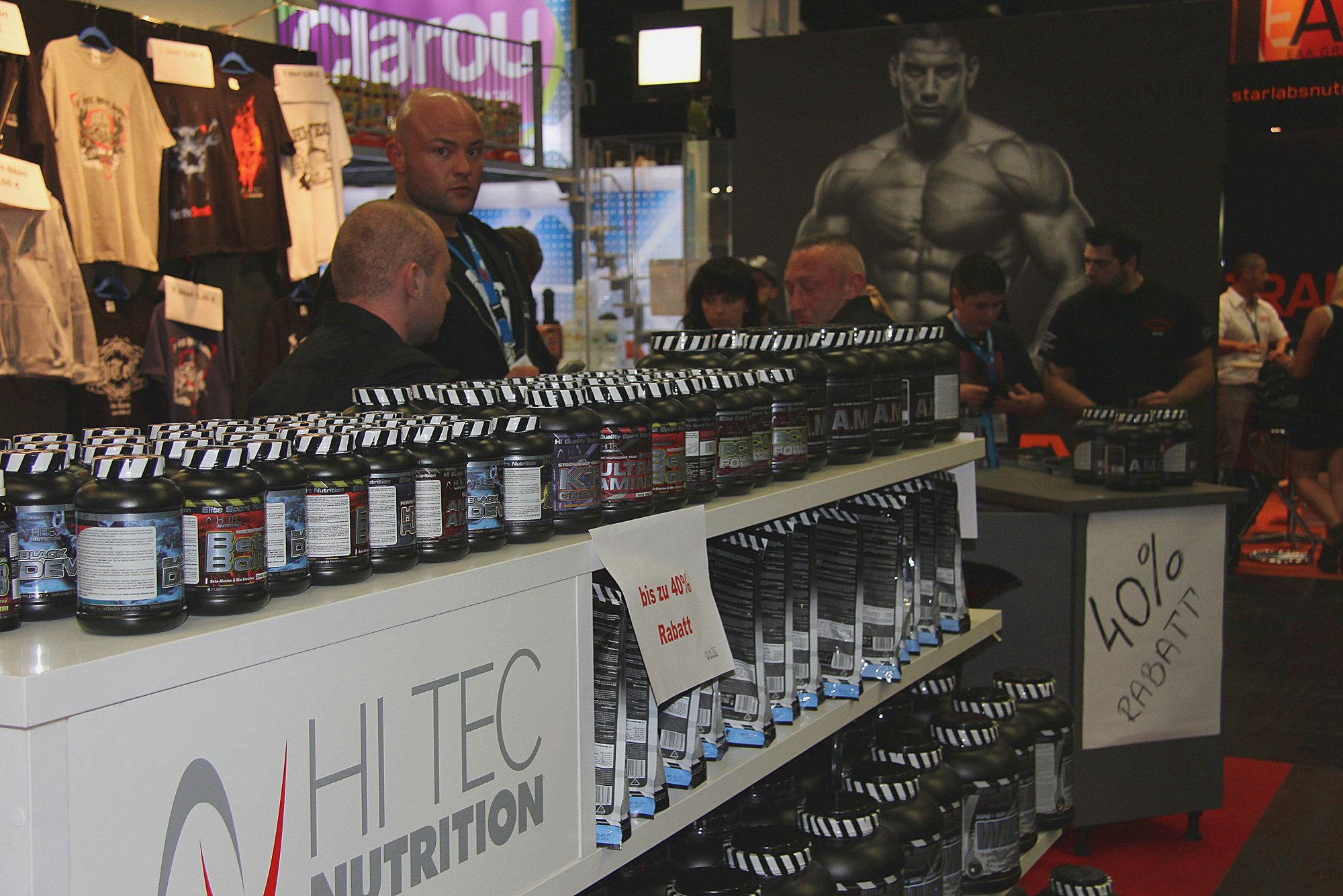 FIBO 2014 Hi Tech Nutrition