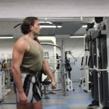 Tirage épaules poulie haute (rétropulsion)
