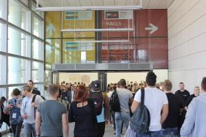 Entrée du FIBO, Cologne, Allemagne