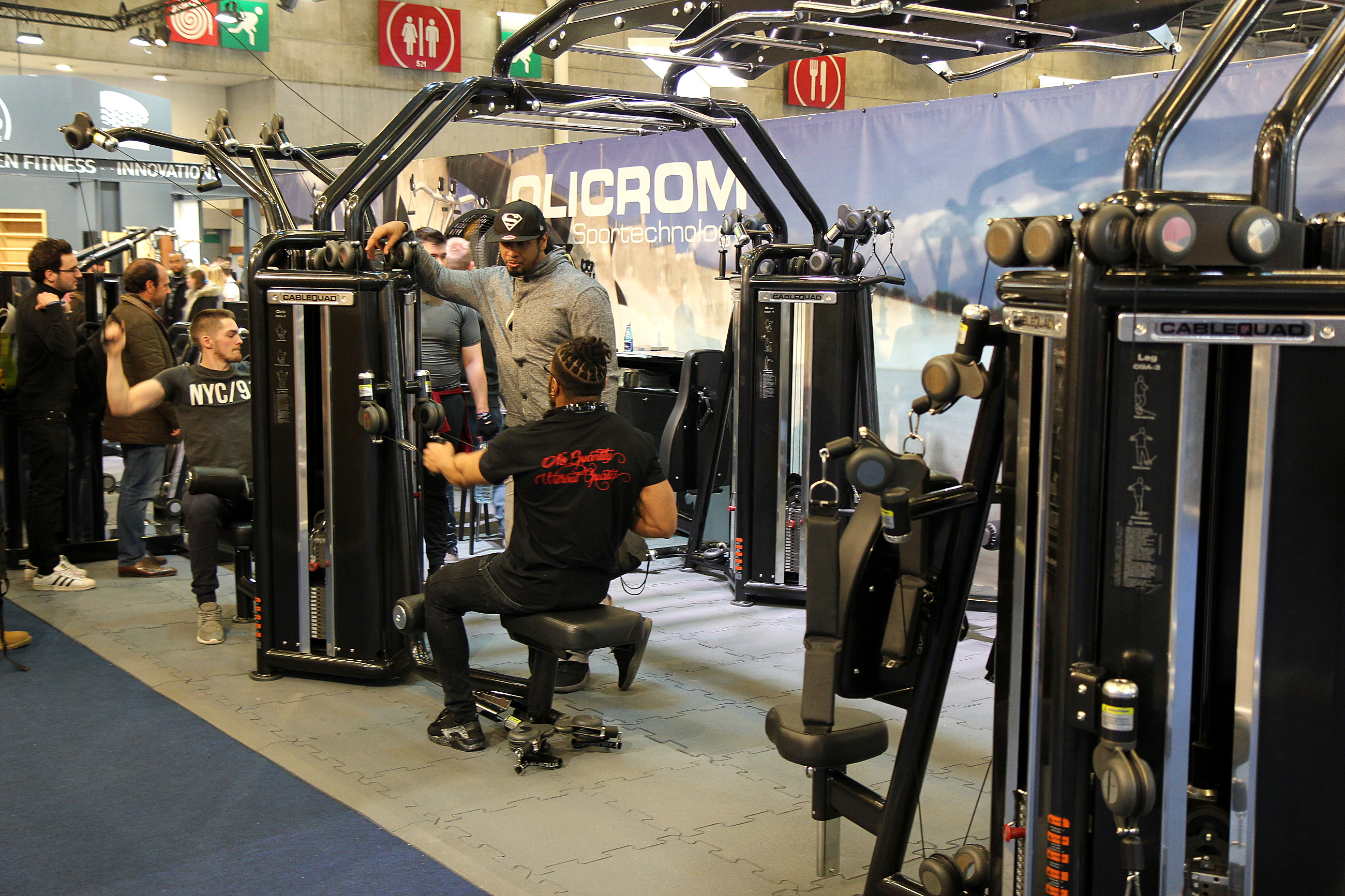 Body Fitness 2018 Machines de musculation