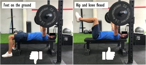 bench-press-position-pieds